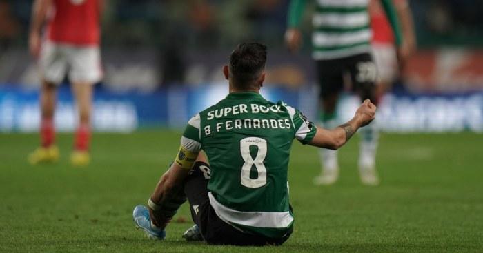 Man United, Bruno Fernandes, Sporting Lisbon