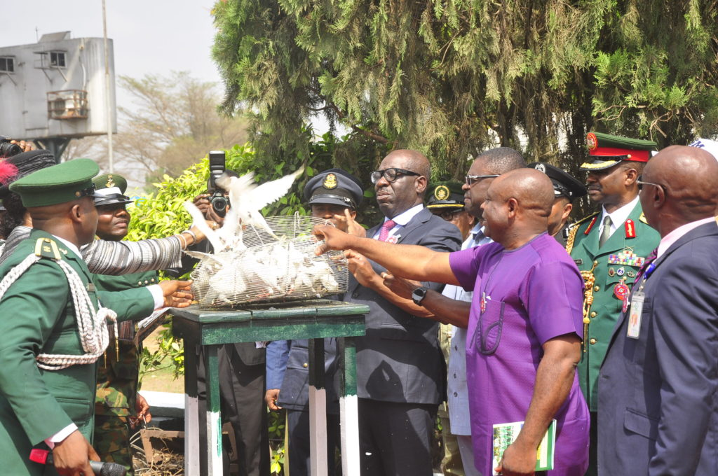 Armed Forces Day: Obaseki pays respect to fallen heroes