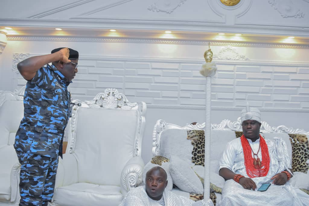 Policing is everybody's responsibility, says Ooni