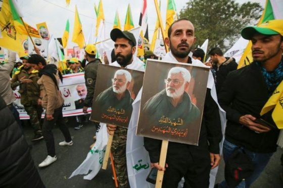 Thousands mourn slain Iranian commander