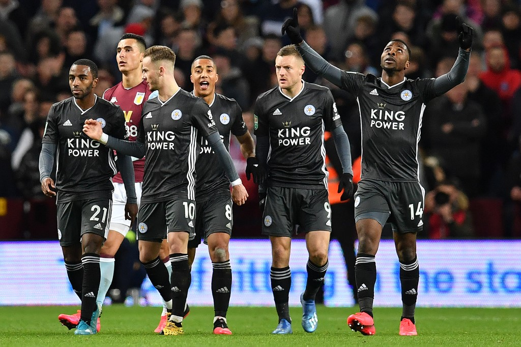 Iheanacho scores but Leicester crash out of League Cup