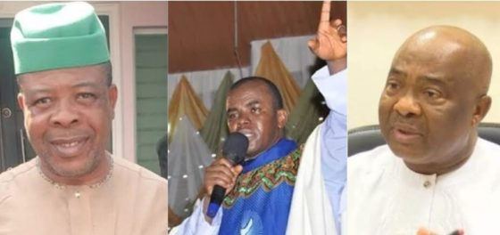 Mbaka's prophecy: Social media goes wild as Supreme Court sacks Ihedioha
