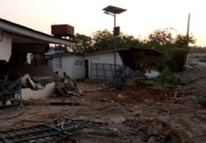 Demolished Ile Arugbo in Ilorin, Kwara