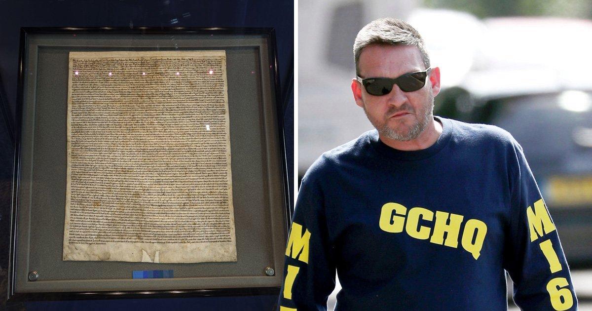 Mark Royden, Magna Carta