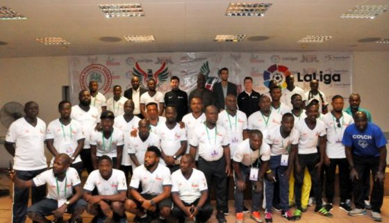2020 NPFL/LaLiga U15 coaching seminar holds in Abuja