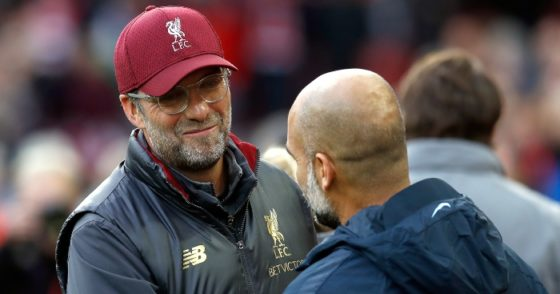 Klopp sympathises with Guardiola after Manchester City's European ban