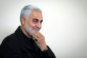 Qasem Soleimani, commander of the elite Quds Force