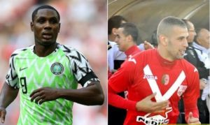 Manchester United interested in Ighalo, Slimani