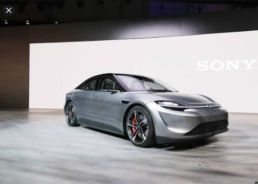 Sony electric car, Vision-S