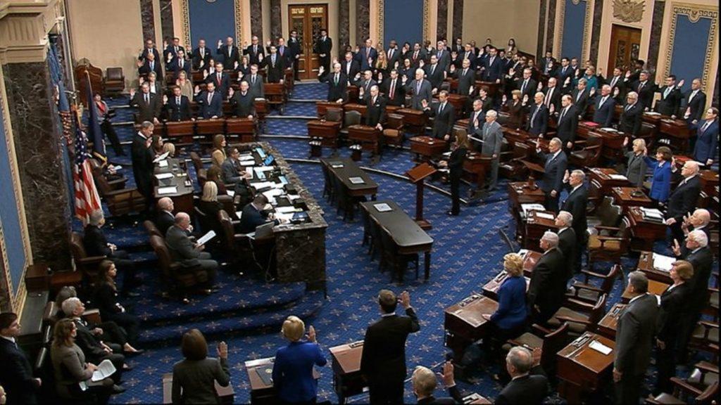 US Senate to judge Trump over riot