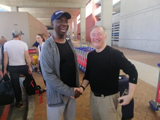 Ned Nwoko completes Antartica expedition, returns to South Africa (photos)