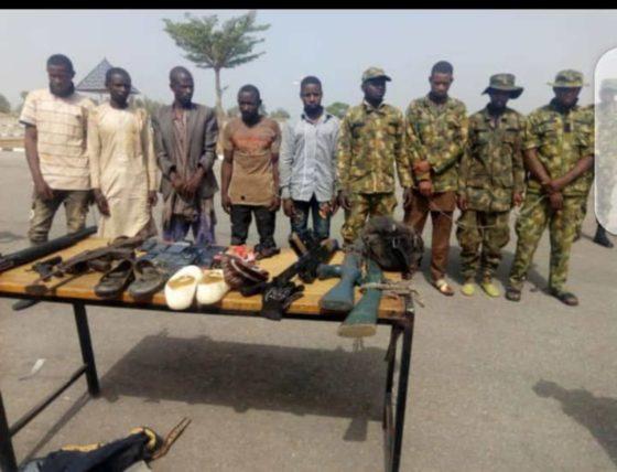 Navy arrests gang of kidnappers, bandits, rustlers