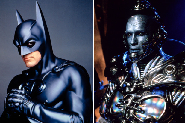 Arnold Schwarzenegger, George Clooney, Batman