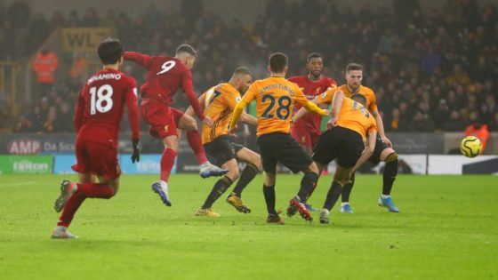 Firmino seals late victory for Liverpool against Wolves