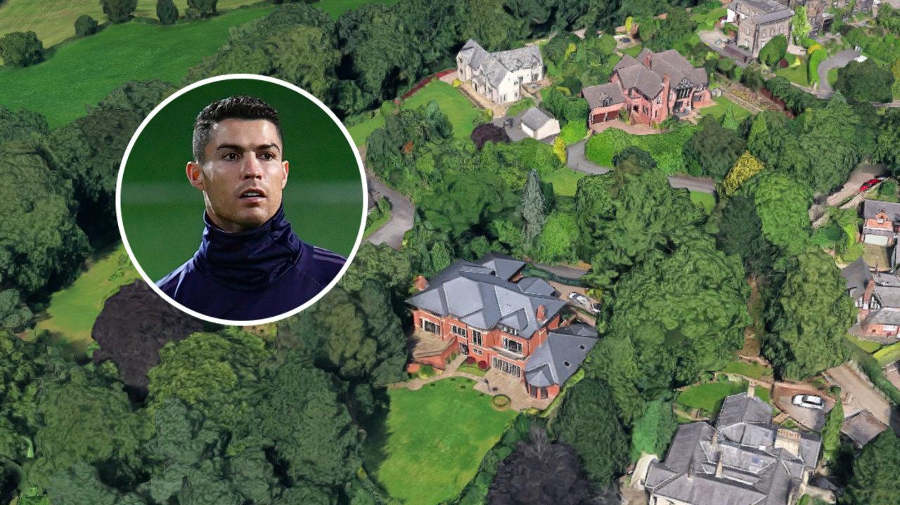Cristiano Ronaldo, Mansion