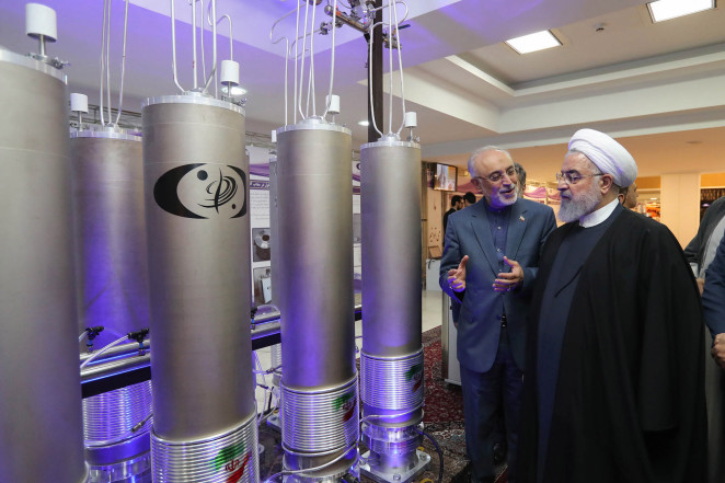 Iran, Hassan Rouhani, Nuclear enrichment