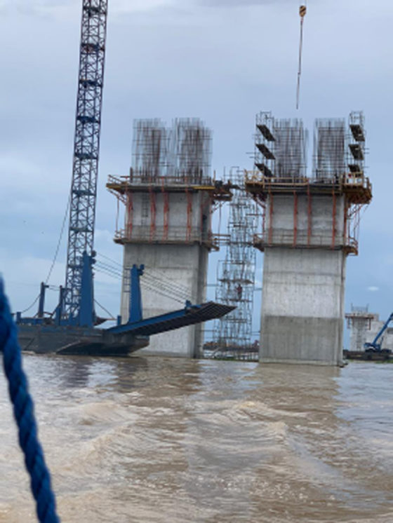 2nd Niger Bridge: We have done 30%, work in progress—Fed. Controller of works