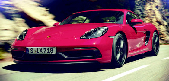 Porsche adds two new models to Cayman range