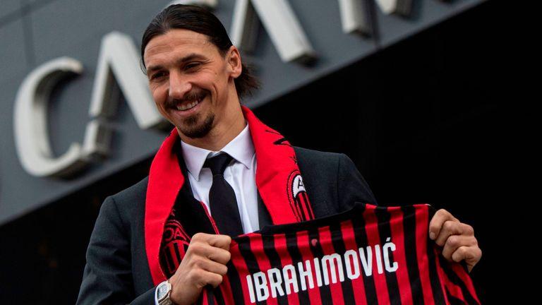 January, Transfers, Ibrahimovic