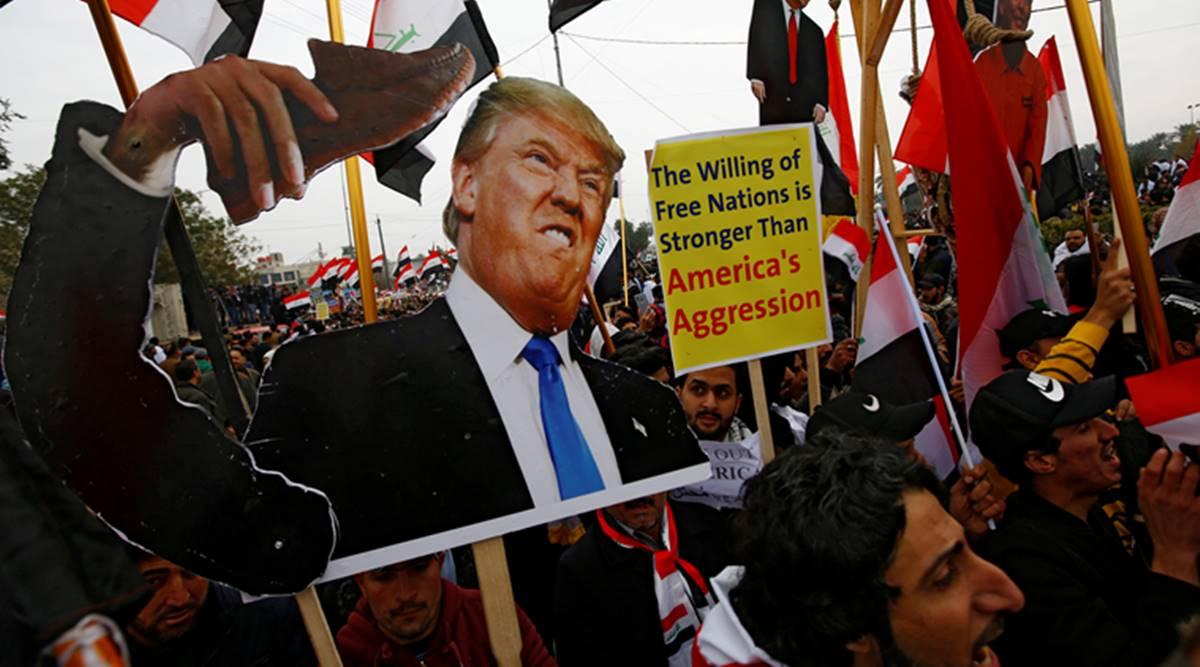 Iraq, U.S. Military, Protest