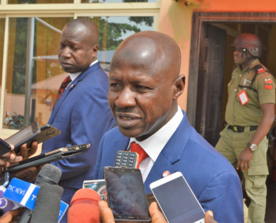 Again, Magu vows to bring Alison-Madueke back to Nigeria to face justice