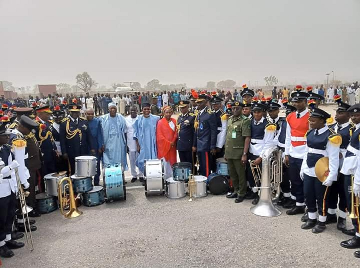 FG Commissions 2,200 Fire Service Cadet Officers, 150 drivers, 6 firefighting trucks