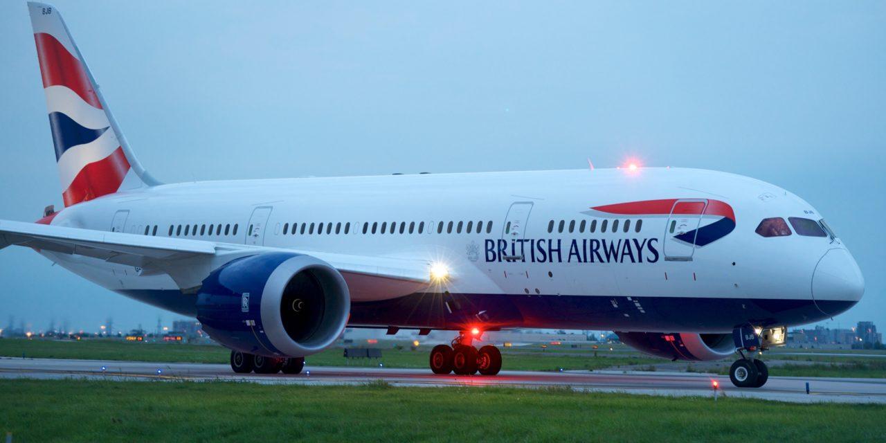 British Airways suspending flights from London's Gatwick