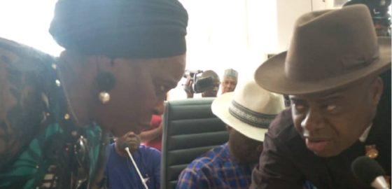 BREAKING: Diri, deputy get certificate of return