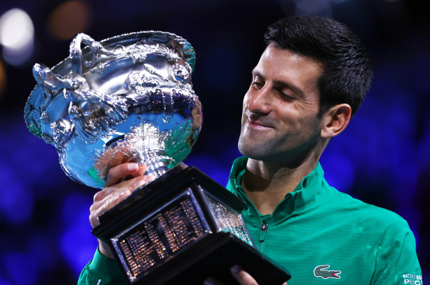 Novak Djokovic, Thiem, Australian Open