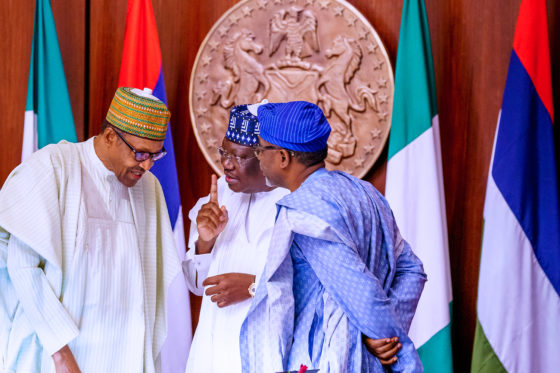 PHOTOS: Buhari Swears-In National Assembly Service Commission members