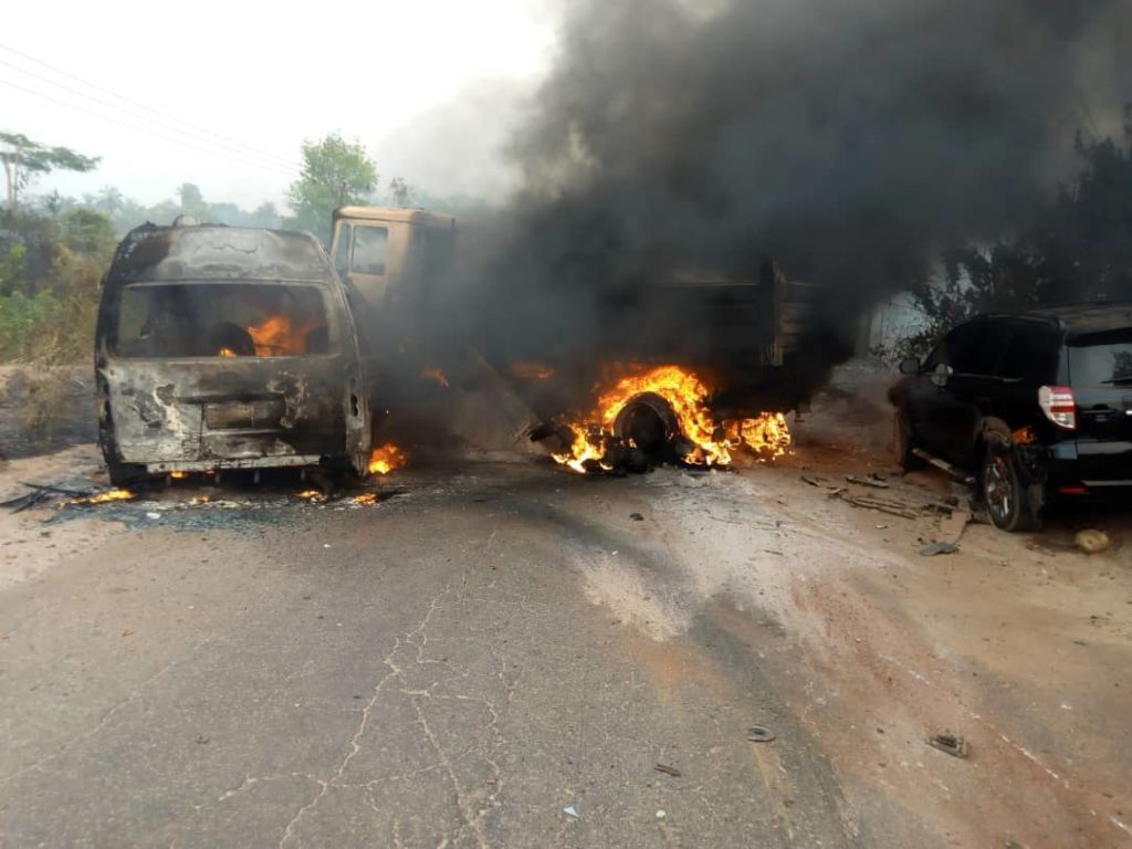 Five Okomu Oil personnel burnt to death in road accident