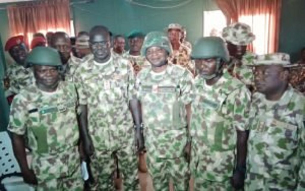 Insurgency: Buratai promotes 3 soldiers for outstanding performance