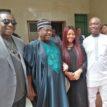 Malaria Eradication: Minister, George Akume hosts Prince Ned Nwoko (photos)