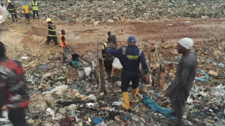 Fire at Olusosun dumpsite again
