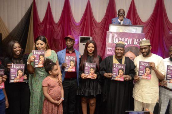 Nigerian celebrities grace Regina Daniels' magazine launch in Abuja (Photos)