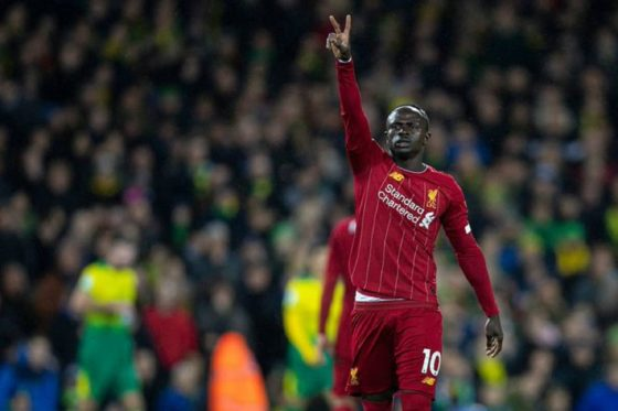Sadio Mane's goal gives Liverpool hard-earned win against Norwich
