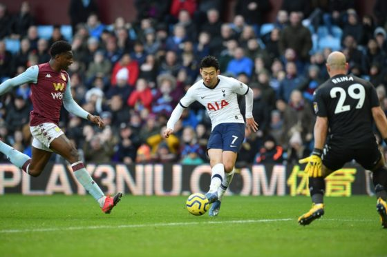 Son strikes late winner at Aston Villa