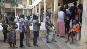 Two sides claim victory in Togo vote as challenger cries foul