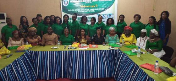 Women In Renewable Energy Association inaugurate Delta Chapter