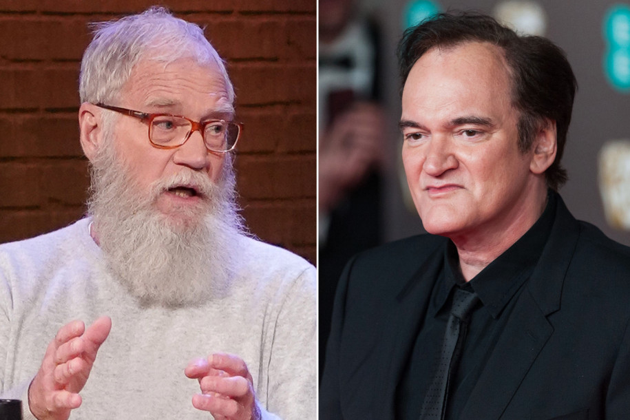 David Letterman, Quentin Tarantino