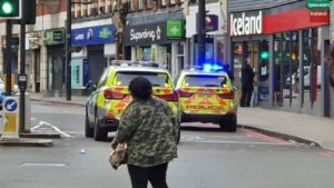 London police shoot man dead after 'terror-related' stabbings