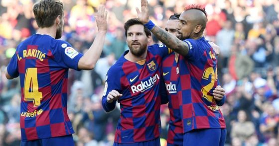 Incredible Messi hits four, as Barcelona rout Eibar 5-0