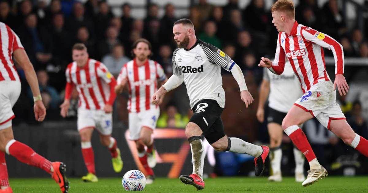 Wayne Rooney, Derby County, Stoke City