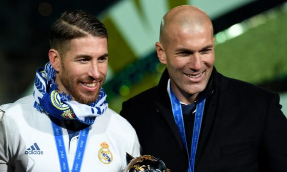 Zidane: I always want to have Sergio Ramos with me
