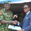 Okowa felicitates with Buratai at 60