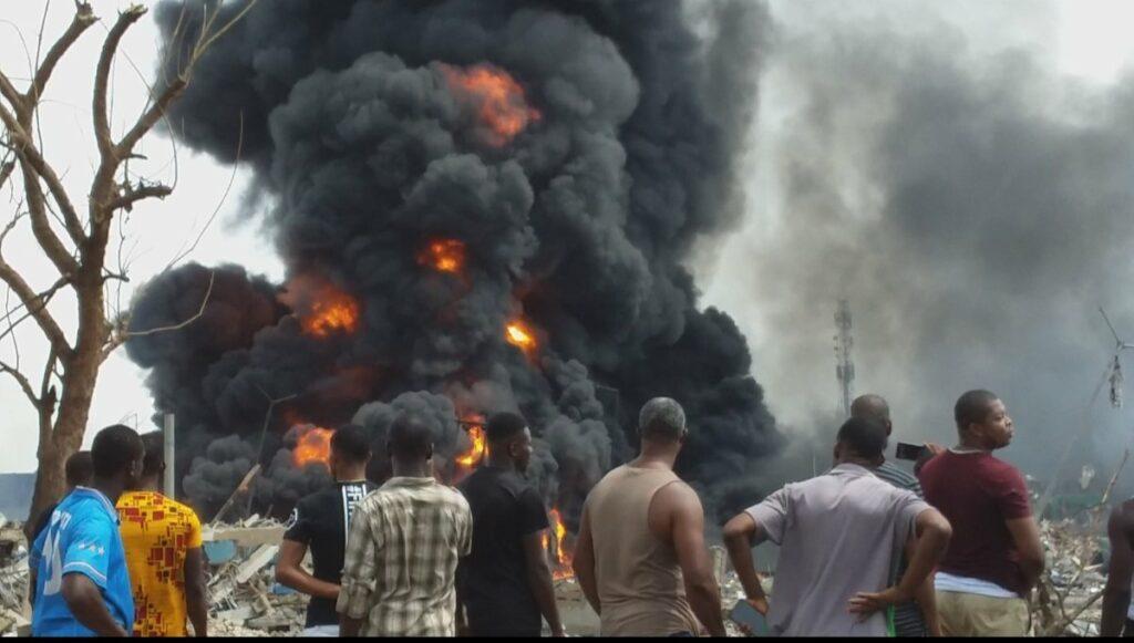 15 killed in Lagos explosion - NEMA
