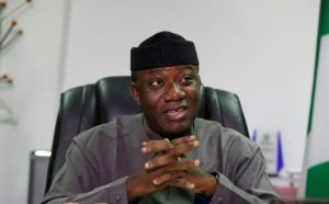 Fayemi, self-isolates after contact with two positive patients