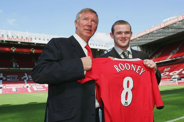 Wayne Rooney, Alex Ferguson, Man United