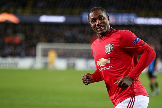 Odion Ighalo, Man United.Goal