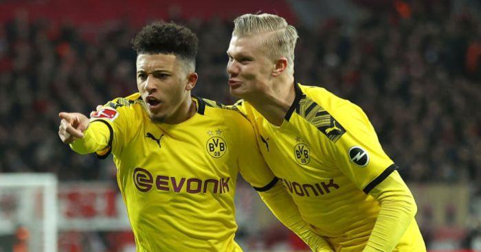 Borussia Dortmund, Jadon Sancho, Erling Haaland